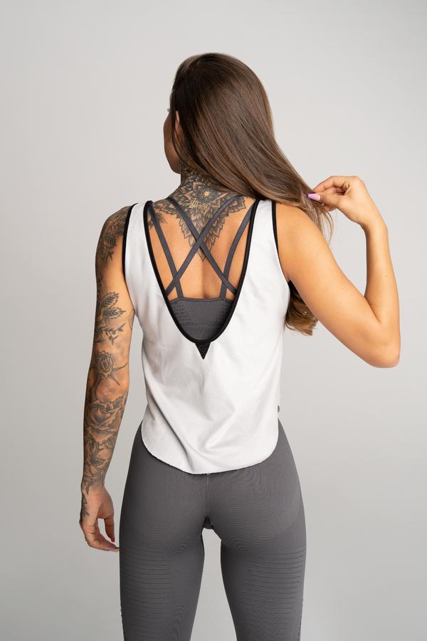 Gym Glamour Top Deynn Grey - 3