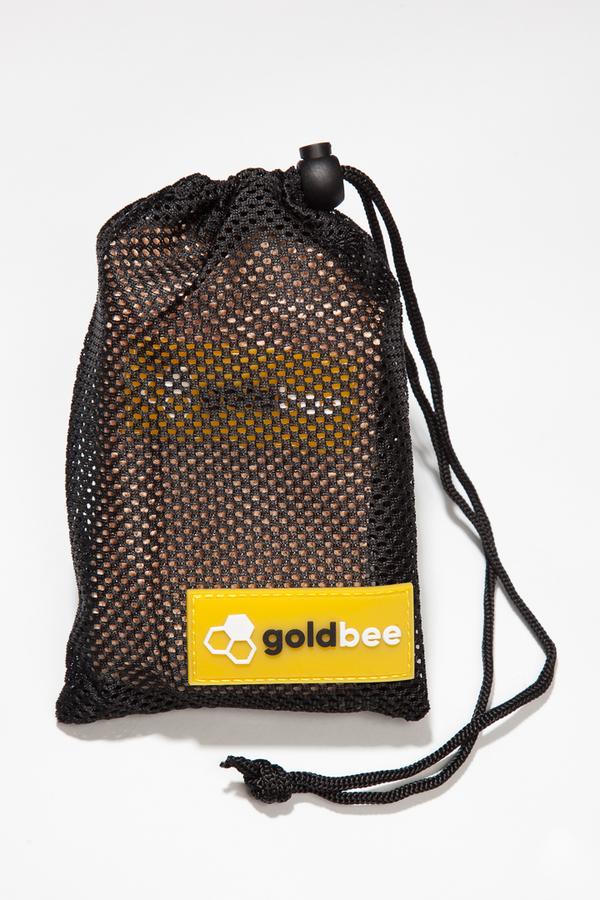 GoldBee Textilní Odporová Guma Meruňková - M, M - 3