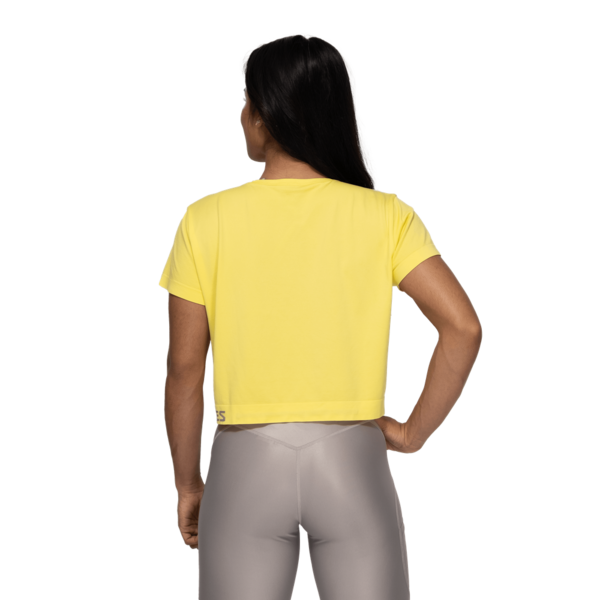 Better Bodies Tričko Rockaway Seamless Lemon Yellow - M, M - 3