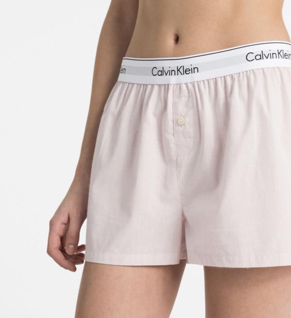 Calvin Klein PJ Shorts Pudrové - M, M - 3