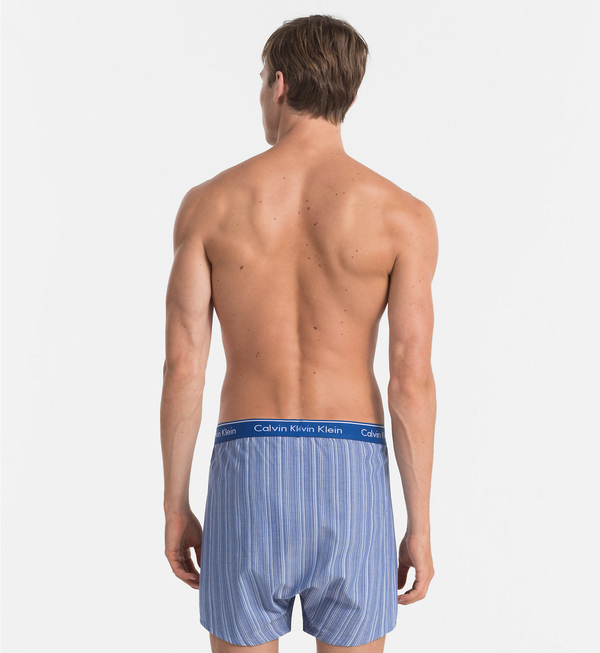 Calvin Klein 2Pack Trenky Modré Se Vzory - 4