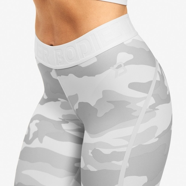 Better Bodies Shorts Chelsea White Camo - 4