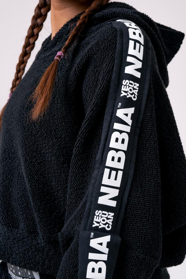 Nebbia Hoodie 520 Rebel Hero - Černá - 4
