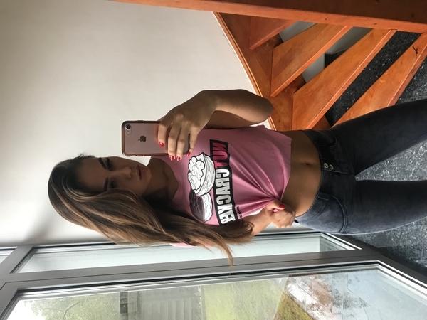 "Gym Glamour Short T-Shirt ""Nut Cracker"" Pink - 4"