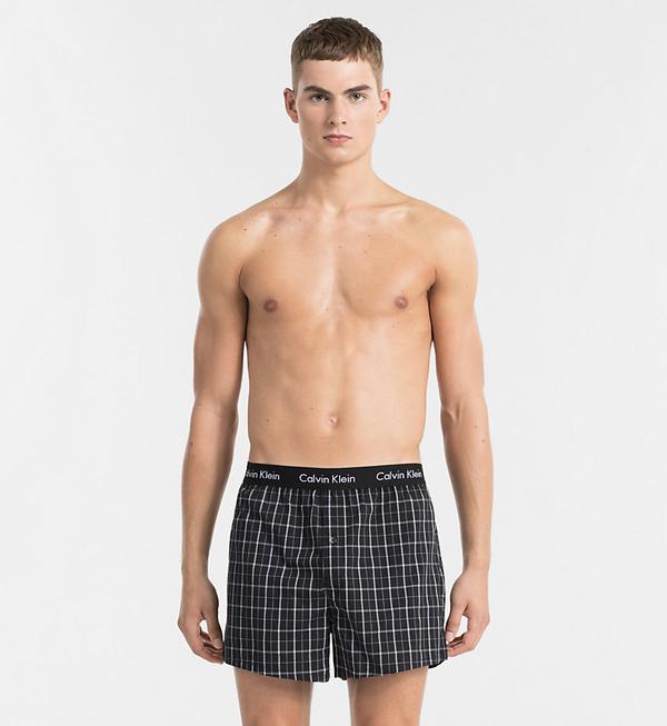 Calvin Klein 2Pack Trenky Černé Se Vzory - 4
