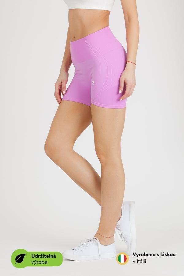 GoldBee BeSeamless Mini Shorts Violet, M - 4