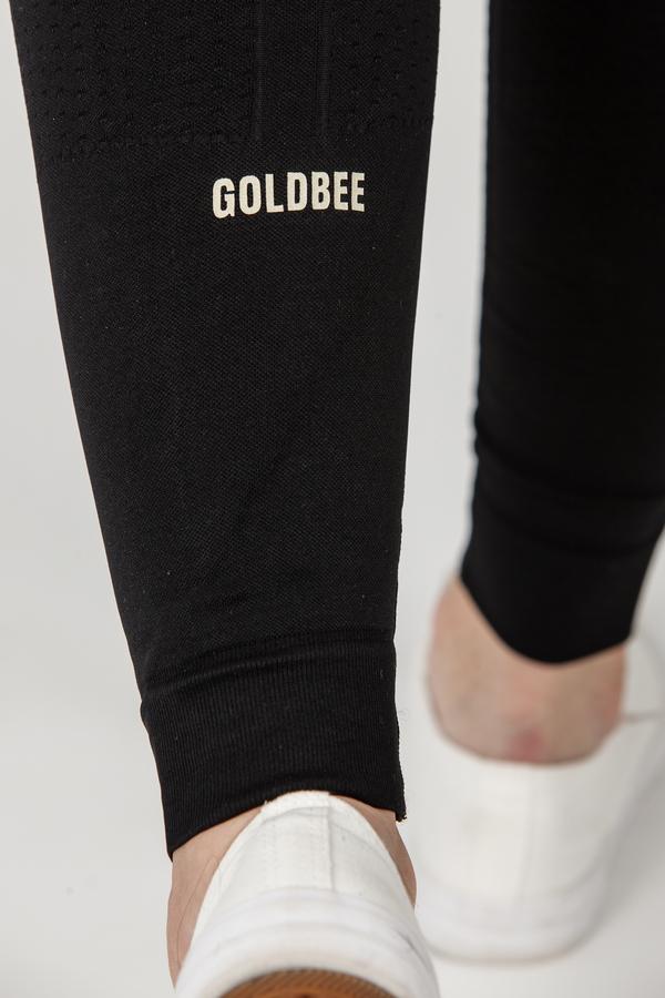 GoldBee BeTop Logo GOLD EDITION Black, L - 4