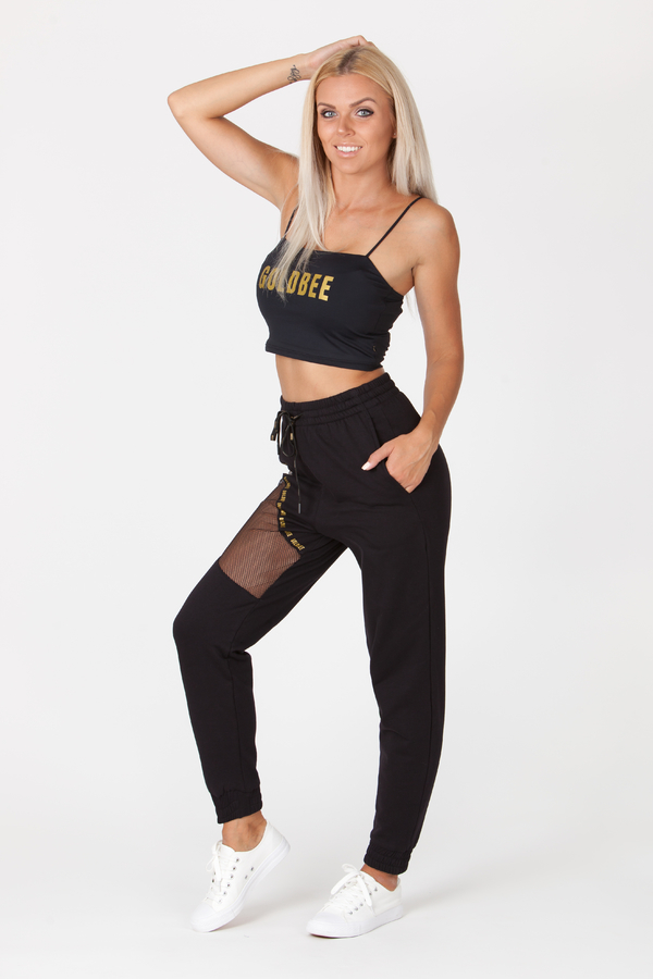 GoldBee Sweatpants Chicago Black, XS - 4