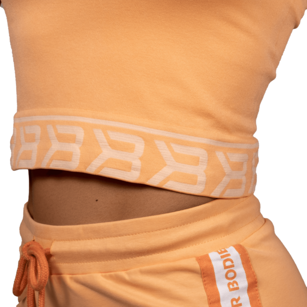Better Bodies Tričko Sugar Hill Tee Light Orange - S, S - 4