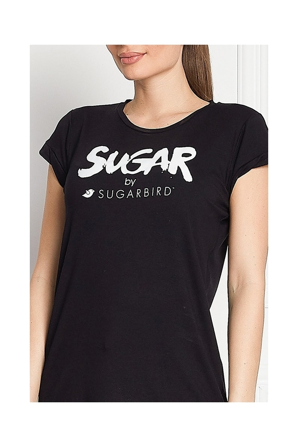 Sugarbird Tričko Light Us Sugar Black - L, L - 4