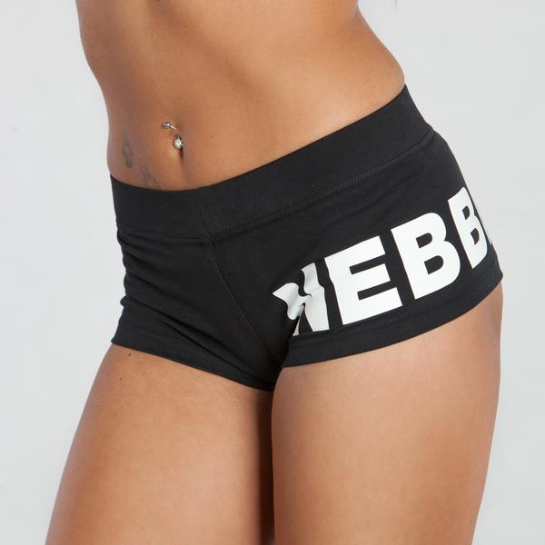 Nebbia Kraťásky 263 Black - L, L - 4