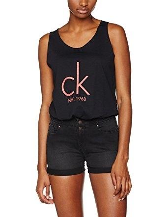 Calvin Klein Tílko Knotted Černé - M, M - 4