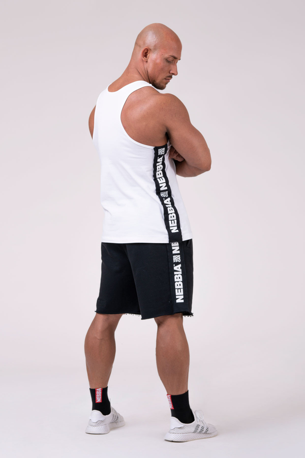 """Nebbia Tank 174 """"Your potential is endless."""" - White, M - 4"""