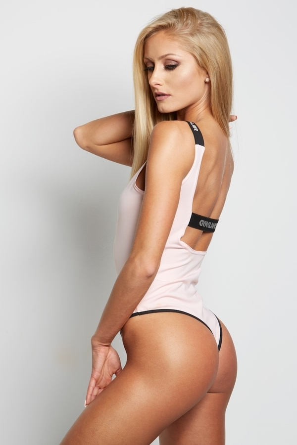 Gym Glamour Bodyčko Baby Pink - M, M - 4