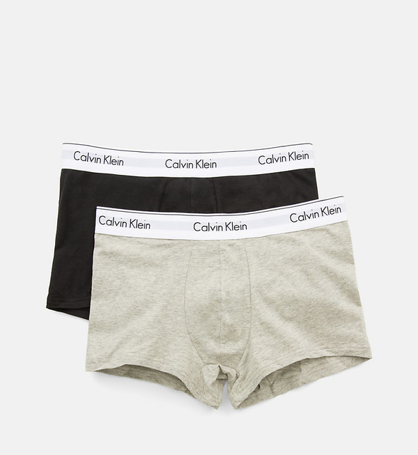 Calvin Klein 2Pack Boxerky Black And Grey - S, S - 4