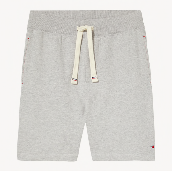 Tommy Hilfiger Kraťase Stretch Cotton Grey - L, L - 4