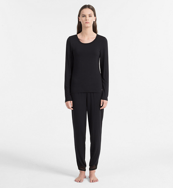 Calvin Klein Triko Sculpted Black - M, M - 4