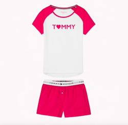 Tommy Hilfiger Pyžamo Set Love - XS, XS - 4