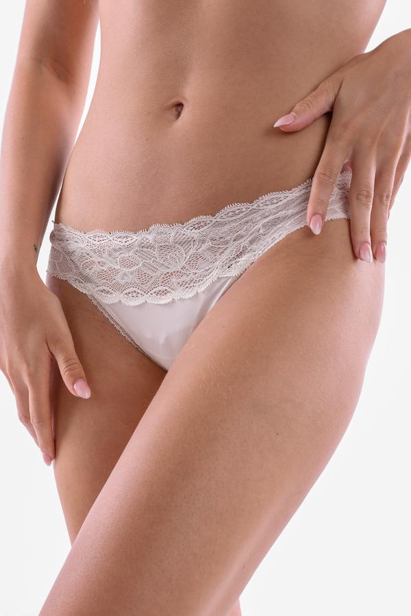 Calvin Klein Kalhotky Flirty Krémové - S, S - 4