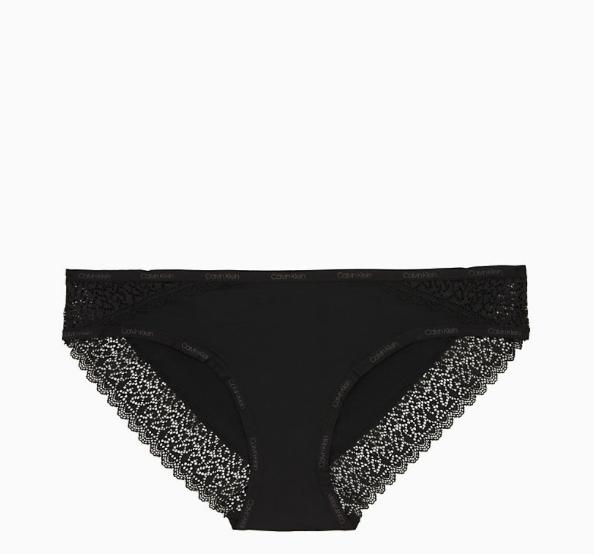 Calvin Klein Kalhotky Flirty Černé - S, S - 4