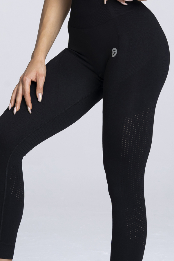 Gym Glamour Leggings Seamless Black - 4