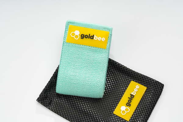GoldBee Textile Resistant Rubber - Turquoise, M - 4