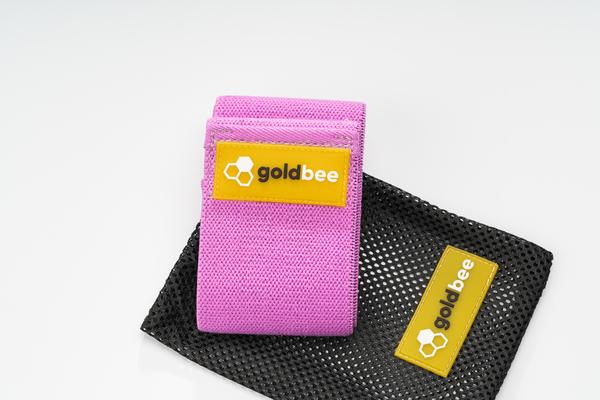 GoldBee Textile Resistant Rubber - Purple, M - 4