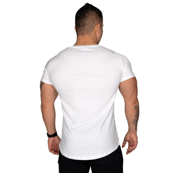 Better Bodies T-shirt Wide Neck Tee White - 4