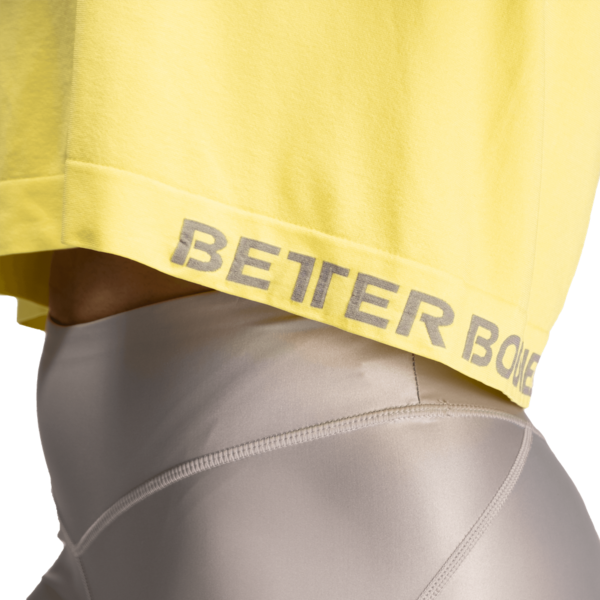 Better Bodies Tričko Rockaway Seamless Lemon Yellow - M, M - 4