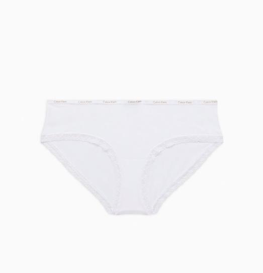 Calvin Klein Hipster Kalhotky Bílé - L, L - 4