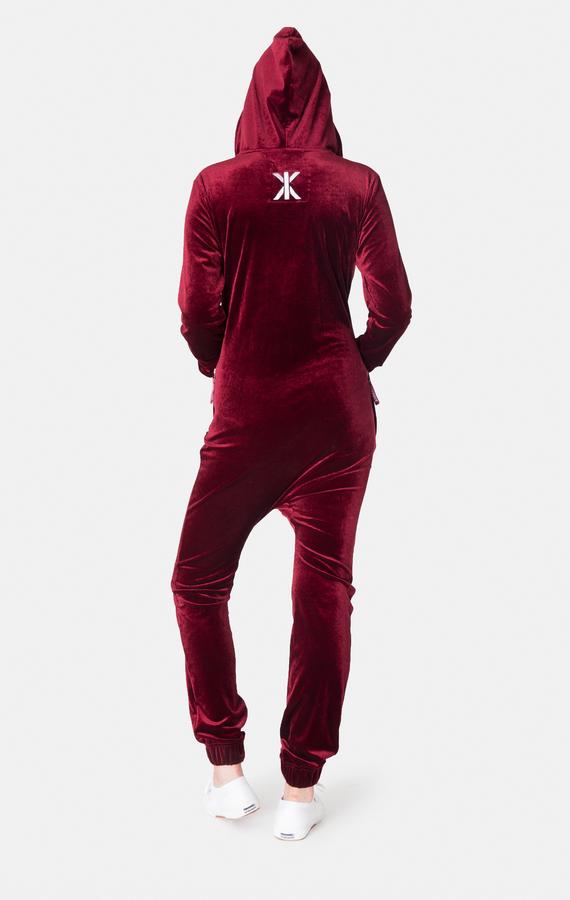 OnePiece Original Velour Red - L, L - 4