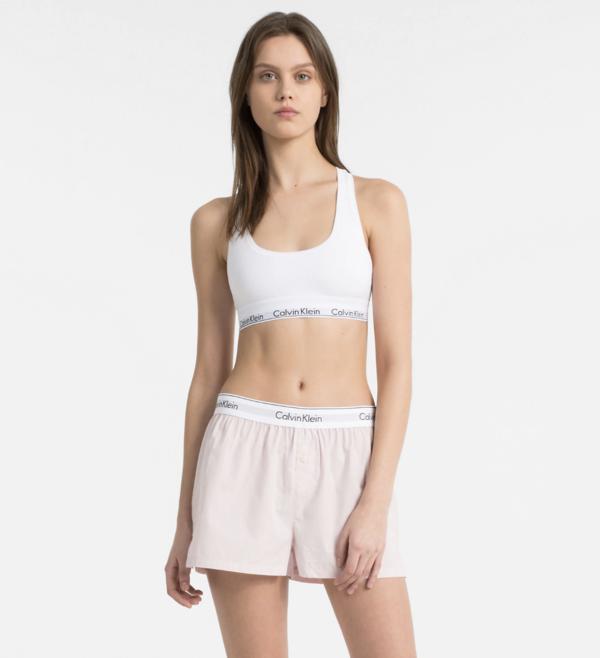 Calvin Klein PJ Shorts Pudrové - M, M - 4