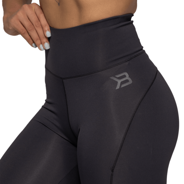 Better Bodies Legíny High Waist Black - XS, XS - 5