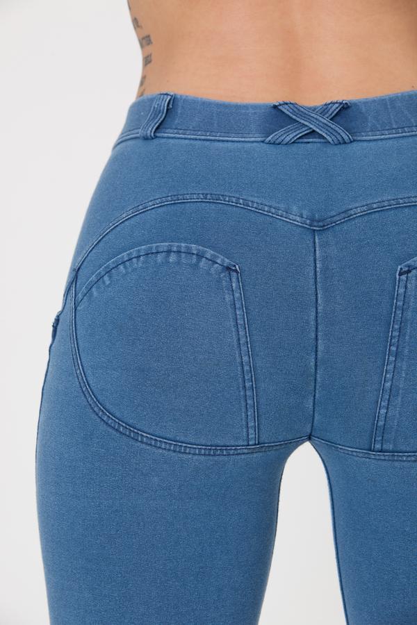 Boost Jeans Mid Waist P Light Blue - S, S - 5