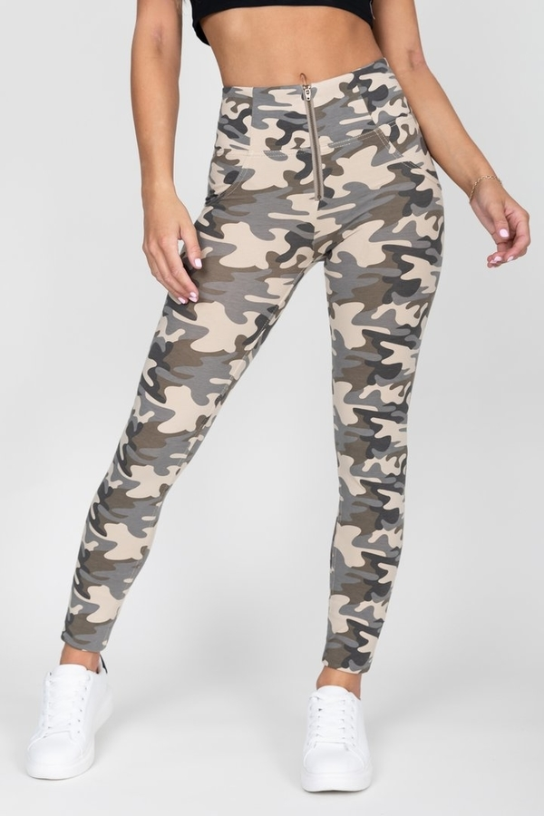 Hugz Camo Light High Waist Jegging - S, S - 5