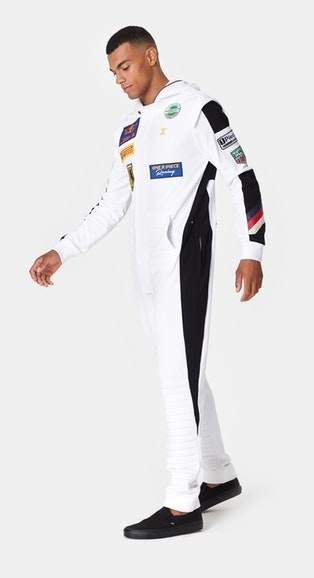 OnePiece Overal Formula White - S, S - 5