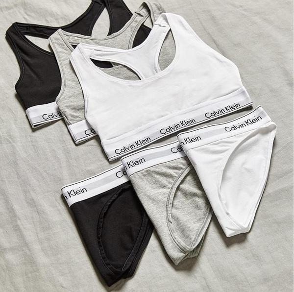 Calvin Klein 3Pack Kalhotky Black&Grey&White - L, L - 5
