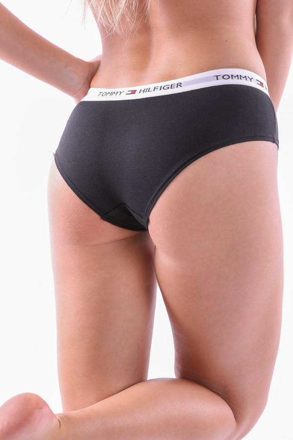Tommy Hilfiger Shorty Iconic Black - S, S - 5