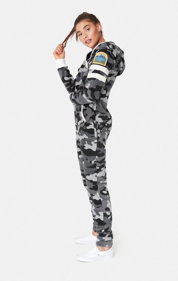 OnePiece Alps Camo Fleece Black - M, M - 5