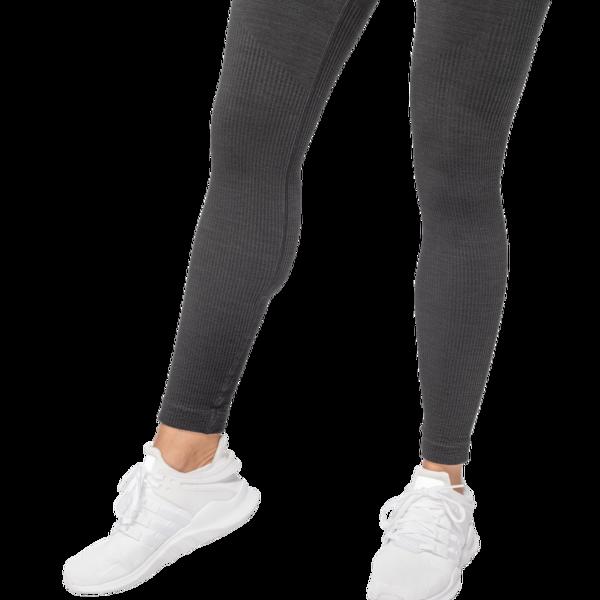 Better Bodies Leggings Rib Seamless Black Melange - 5