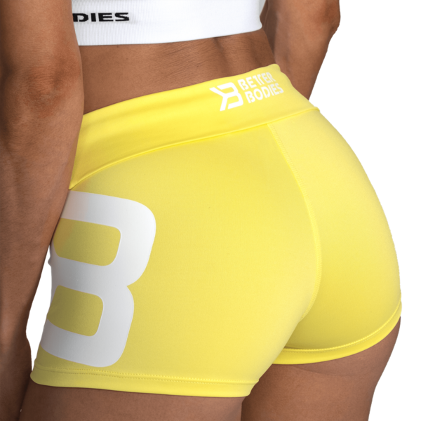 Better Bodies Shorts Gracie Lemon Yellow - 6