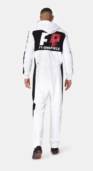 OnePiece Overal Formula White - S, S - 6