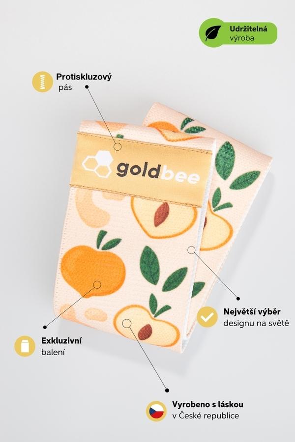 GoldBee BeBooty Peach, L - 6