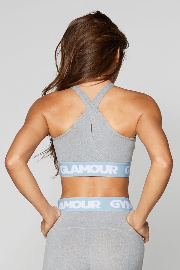 Gym Glamour Bra Grey Basic - 6