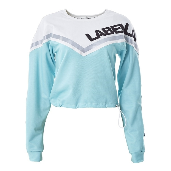 Labella Mikina Turquoise/White - M, M - 6