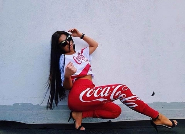 Sugarbird Tepláky Walida Coca Cola - S, S - 6