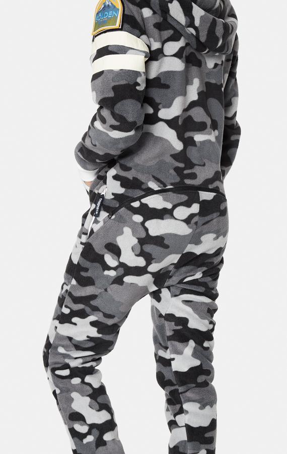 OnePiece Alps Camo Fleece Black - M, M - 6