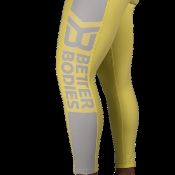 Better Bodies Legíny Chrystie High Lemon Yellow - M, M - 6