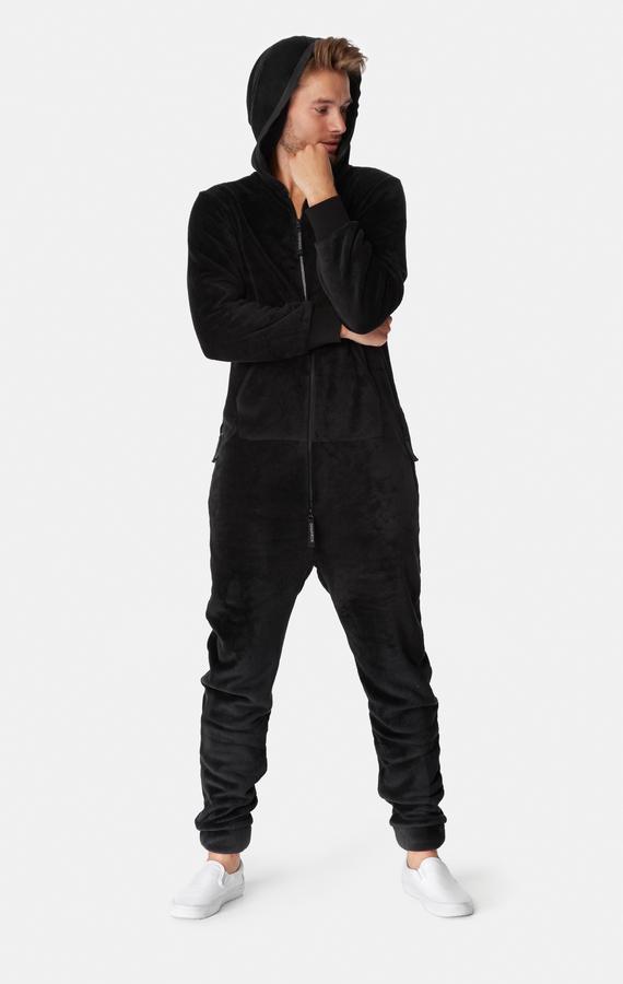 OnePiece Puppy Hug Fleece Black - 7