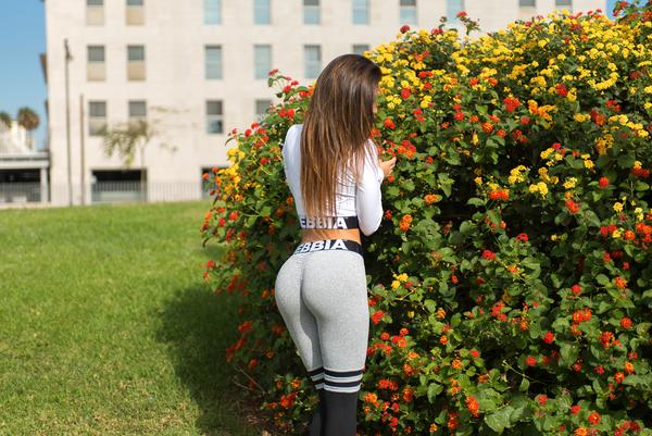 Nebbia Legíny Over The Knee 286 Grey - 7
